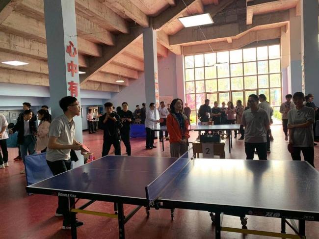 郑州财经学院庆祝建党一百周年教职工乒乓球比赛