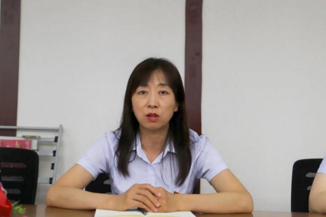 管理学院教工党支部召开党史学习教育专题组织生活会