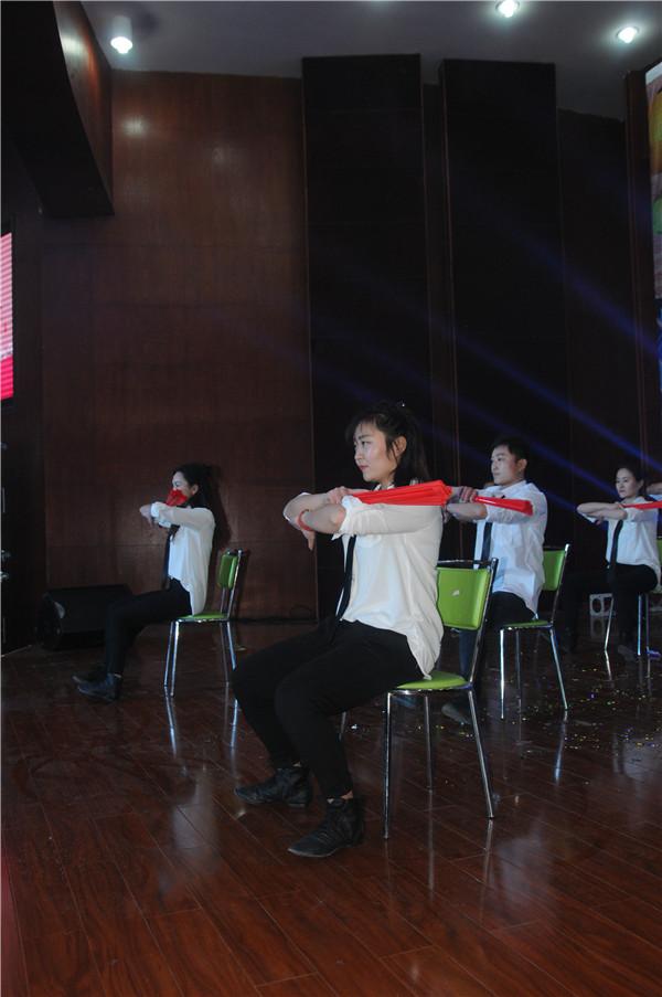 公共基础教学分工会 舞蹈《青花瓷》