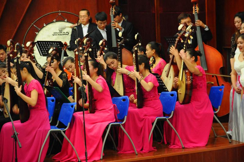 郑州财经学院新年音乐会