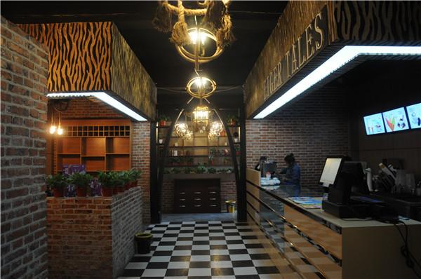 咖啡厅走廊